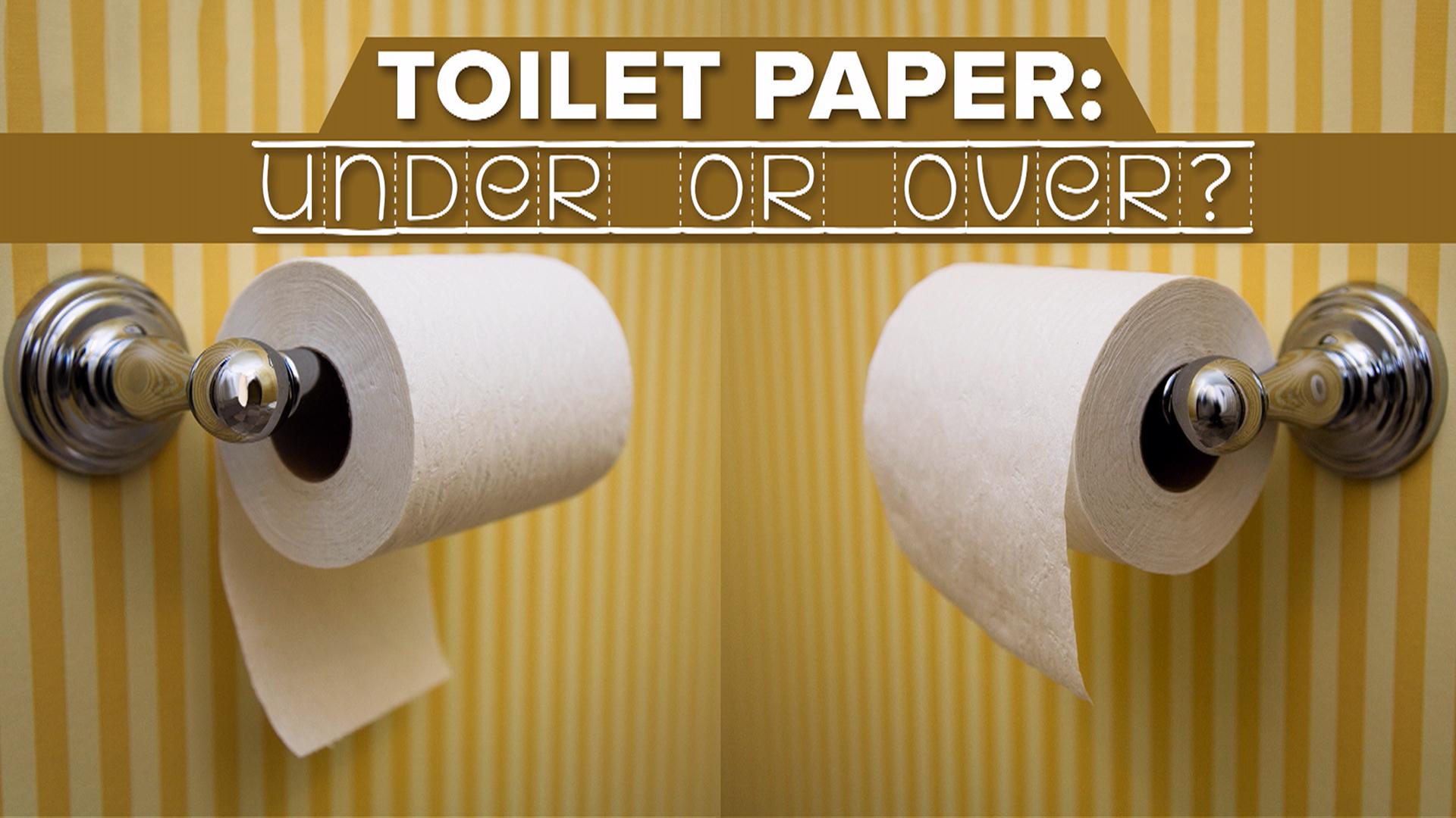 Verso Giusto Carta Igienica carta igienica: davanti o dietro? - il sanitario