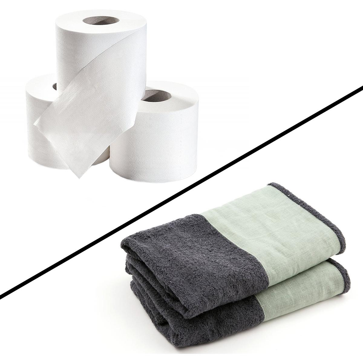Carta o asciugamano