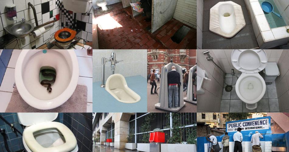 20 toilet things