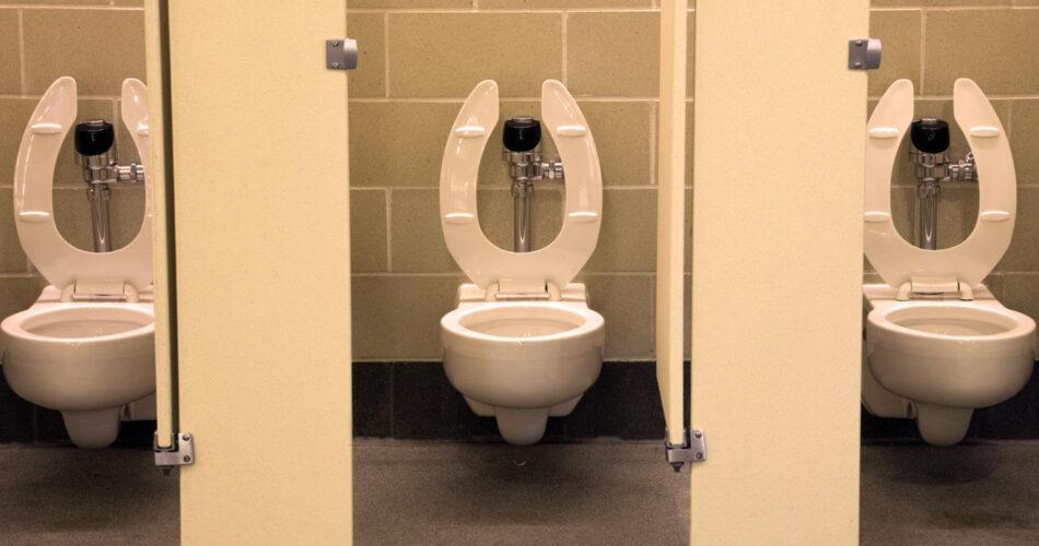 U-shaped toilets