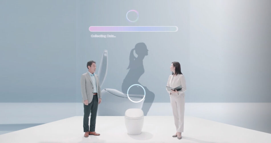 TOTO's toilets from CES 2021