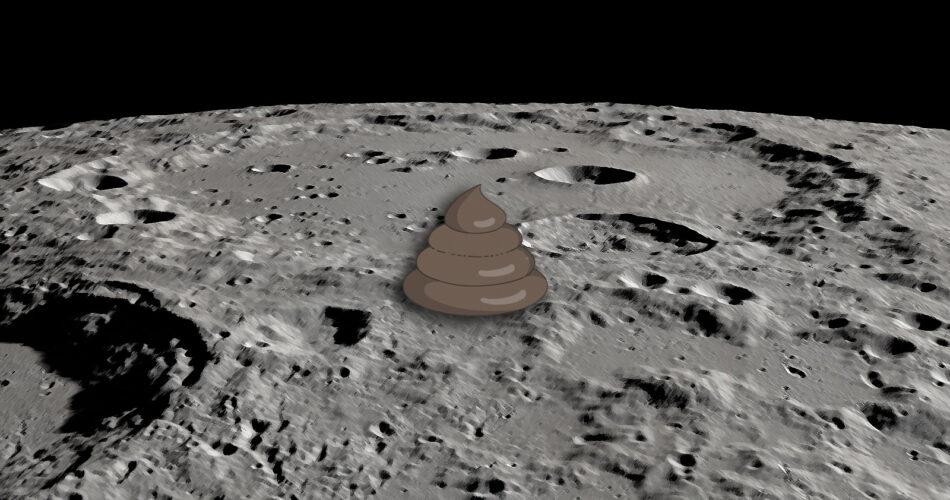 moon and poop