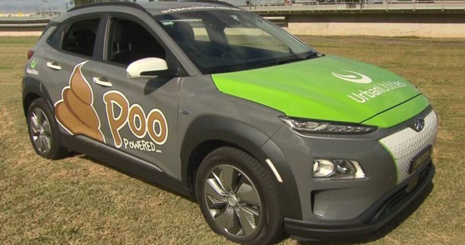 poo-powered SUV