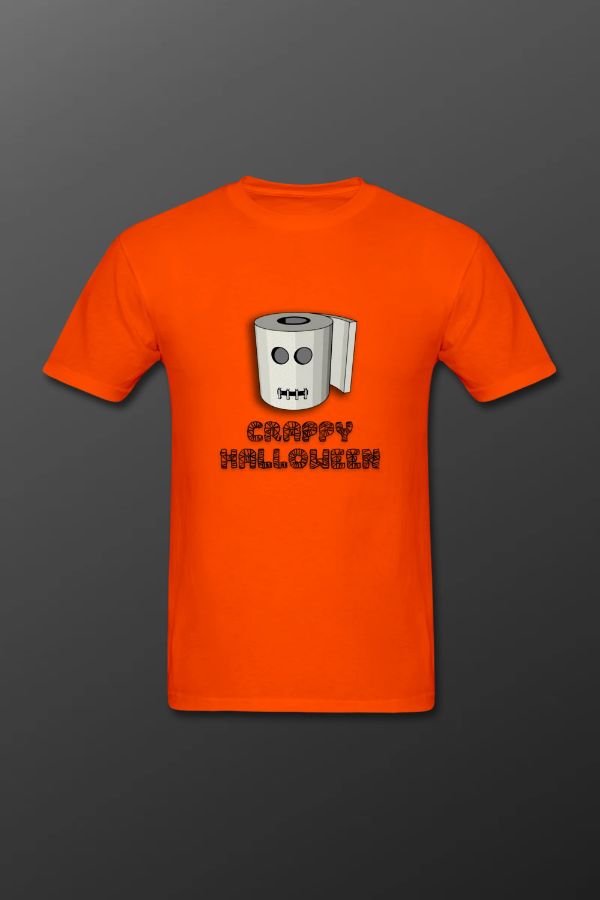 halloween toilet paper t-shirt