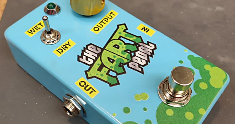 the fart pedal effect for guitar