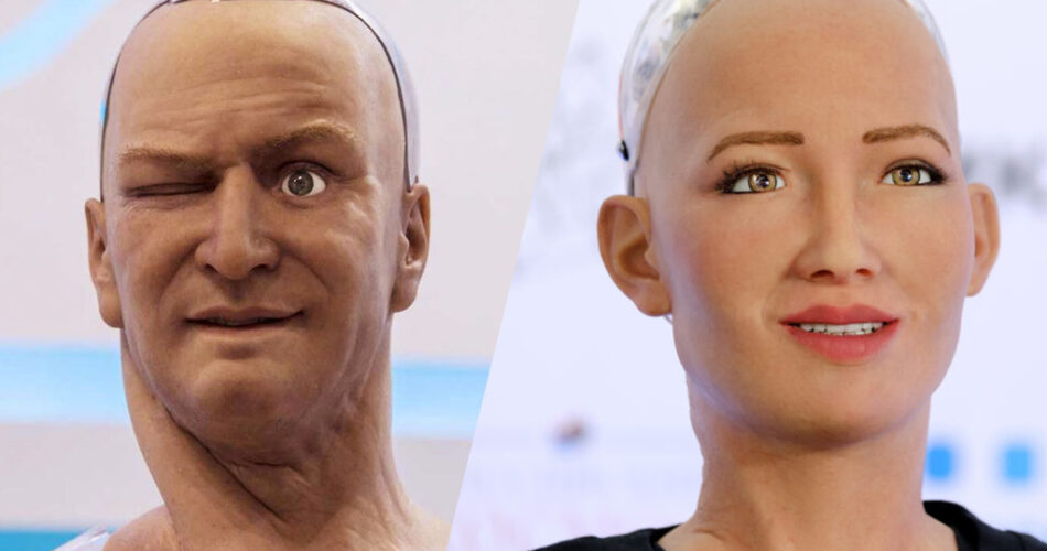 han and sophia robots